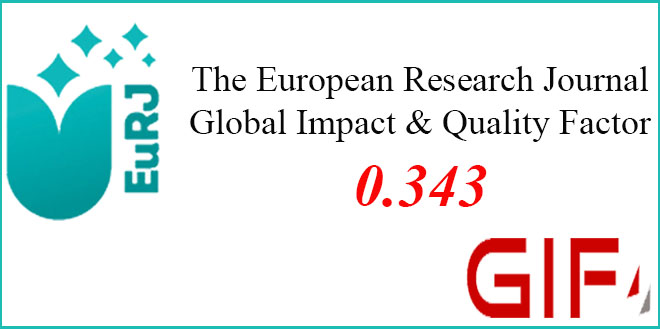 The Global Impact Factor – The European Research Journal